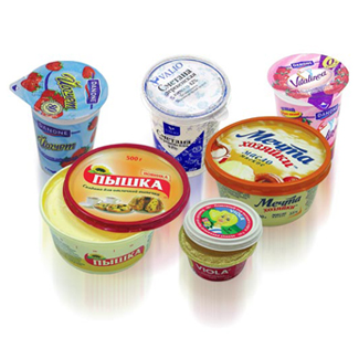 Фасовка в пластиковые стаканы, контейнеры баночки жидких и пастообразных продуктов