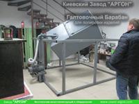 Фотография номер 15 галтовочного полировочного барабана с сушкой для деревянных палочек для кофе и мороженого купить в Киеве