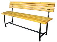 Фотография Лавочки металлические модели Сплетница-140 или Скамейки металлические садово-парковые и дачные скамейки купить в Киеве