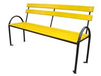 Фотография Лавочки металлические модели Сплетница-220 или Скамейки металлические садово-парковые и дачные скамейки купить в Киеве