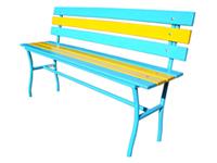 Фотография Лавочки металлические модели Сплетница-240 или Скамейки металлические садово-парковые и дачные скамейки купить в Киеве