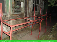 Фотография номер 7 процесса изготовления лавочки Сплетница-240 купить в Киеве
