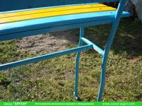 Фотография номер 14 процесса изготовления лавочки Сплетница-240 купить в Киеве