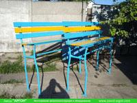 Фотография номер 17 процесса изготовления лавочки Сплетница-240 купить в Киеве