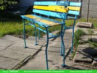 Фотография номер 18 процесса изготовления лавочки Сплетница-240 купить в Киеве