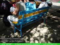 Фотография номер 24 процесса изготовления лавочки Сплетница-240 купить в Киеве