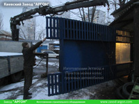 Фотография номер 7 эстакады для Пункта мойки колес грузовых автомобилей до 20 тонн купить в Киеве