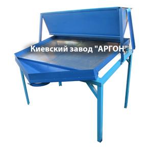 Вибросито 2 метра - для отходов зерновых и просеивания гречихи купить в Киеве