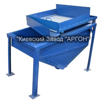 Вибросито для песка с бункером на 400 кг купить в Киеве